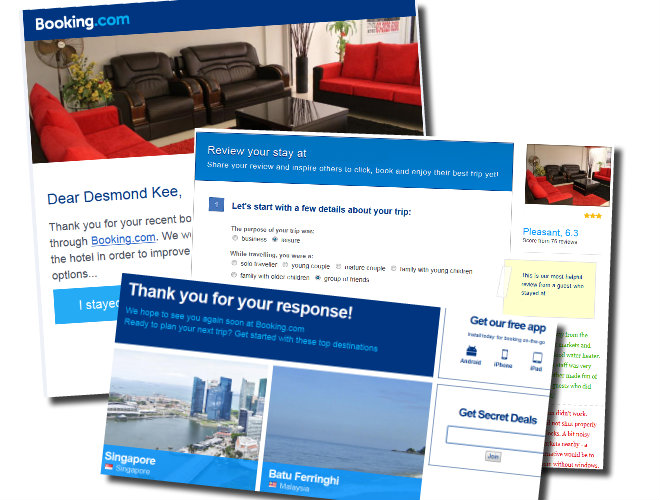 Hotel email marketing combo