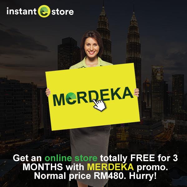 InstanteStore Merdeka Promo