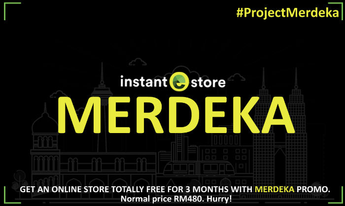 InstanteStore Project Merdeka 2016