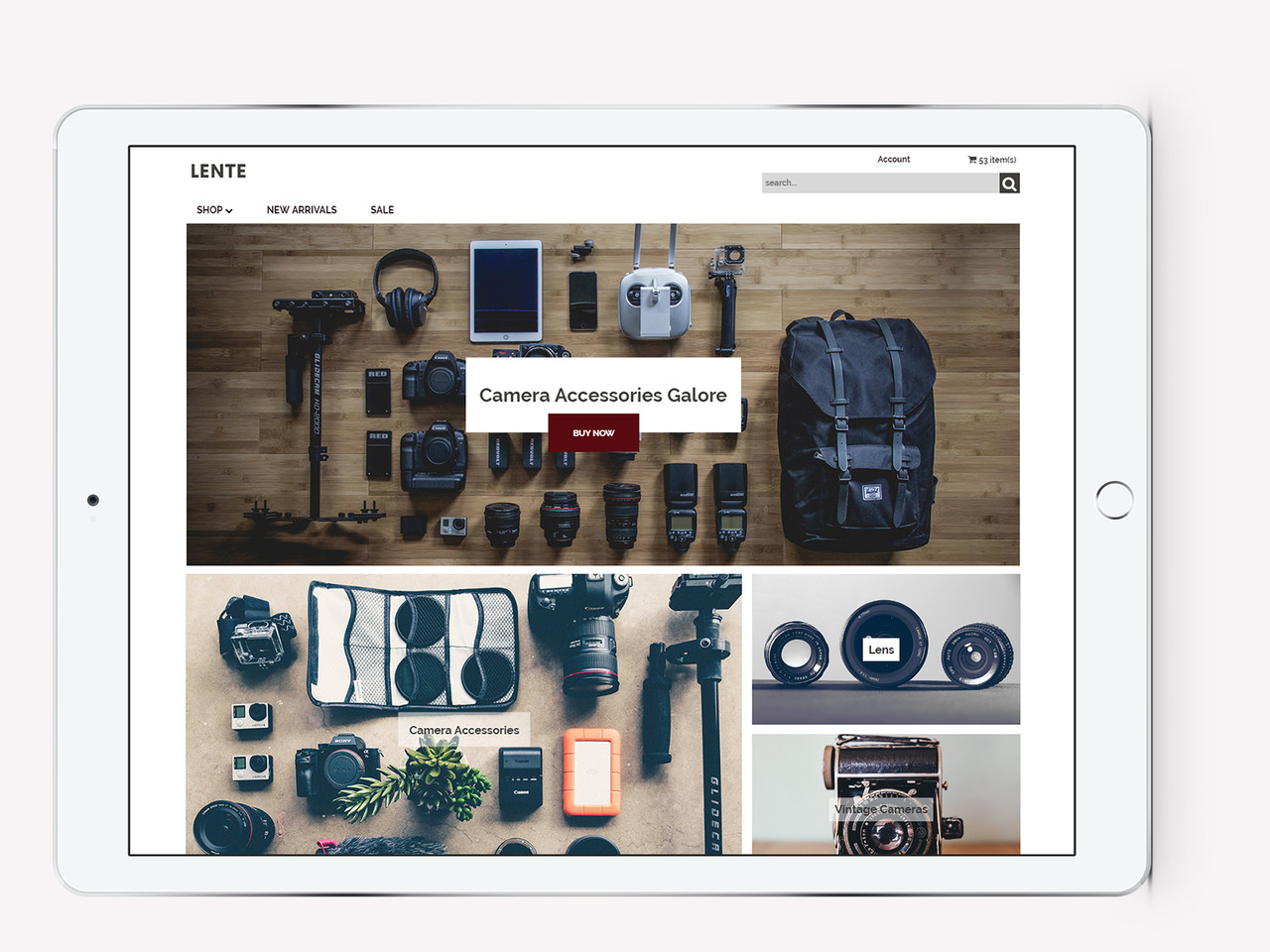 image of new instantestore template