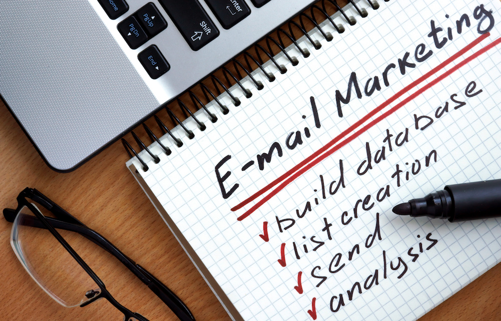 checklist of email marketing process
