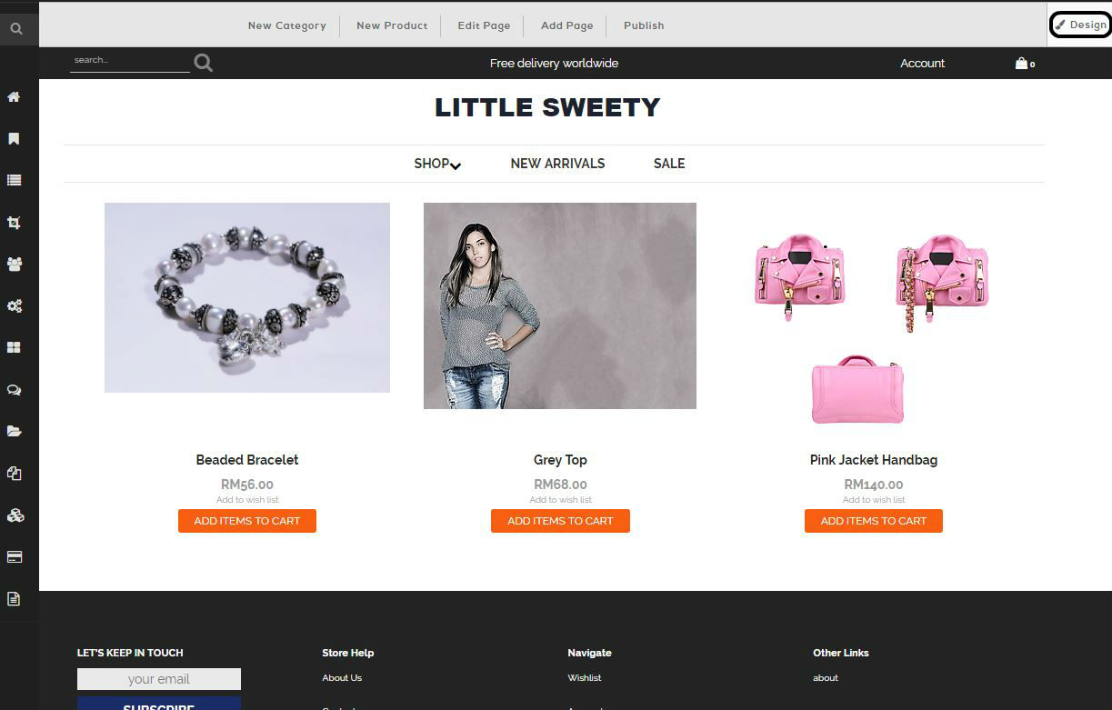 designing your ecommerce store malaysia